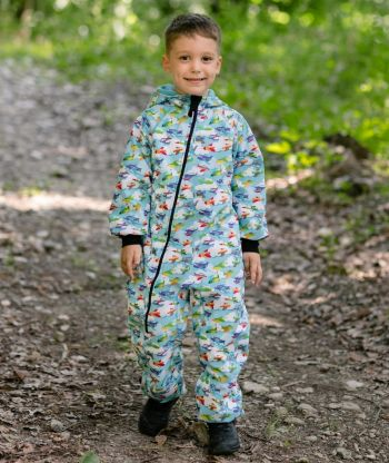 Waterproof Softshell Overall Comfy Airlpanes Jumpsuit