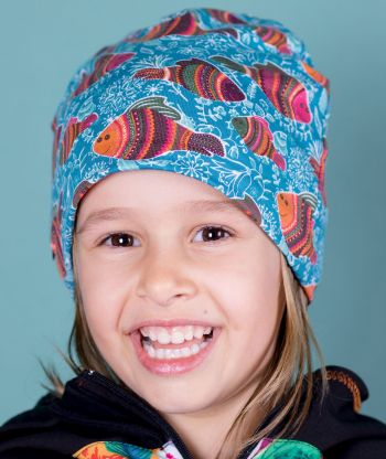 Baggy Hat Fish Blue