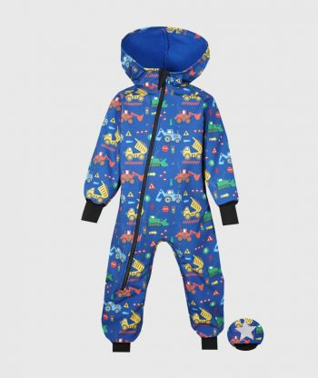 Waterproof Softshell Overall Comfy Vehicles Jumpsuit