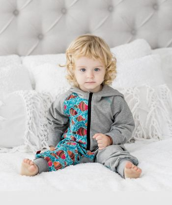 OnePiece Jumpsuit Fish Grey