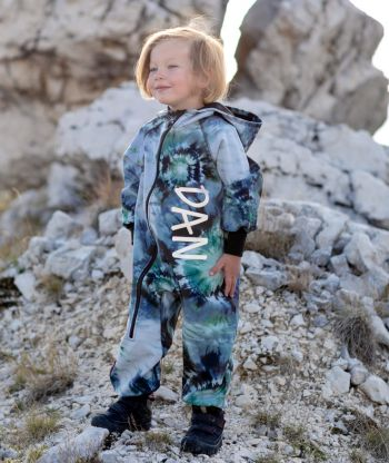 Waterproof Softshell Overall Comfy Meteor Explosion Jumpsuit