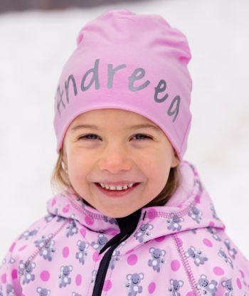 Baggy Hat Reflex Pink