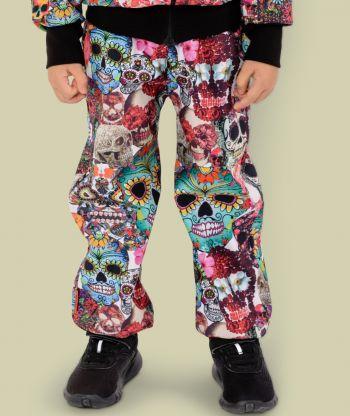 Waterproof Softshell Pants Inka Skulls