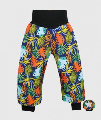 Waterproof Softshell Pants Colorful Leaves