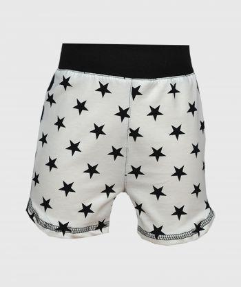 Short Pants Stars Black