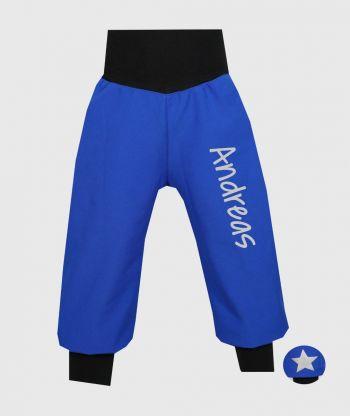 Waterproof Softshell Pants Blue