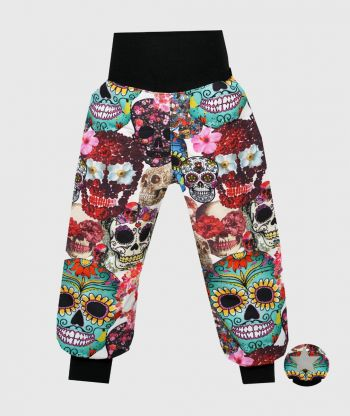 Waterproof Softshell Pants Inka Skulls