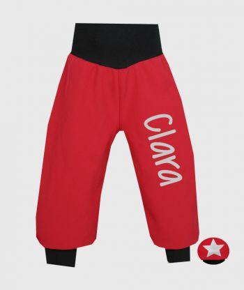 Waterproof Softshell Pants Poppy Red