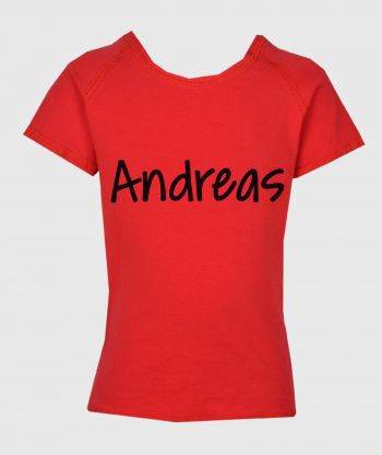 T-shirt Red